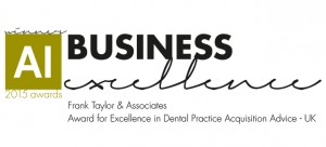 Award for Excellence in Dental Practice Acquisition Advice - UK