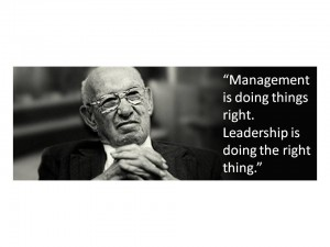 Leadership - Drucker
